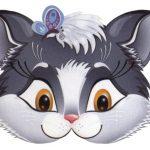 маска кошка