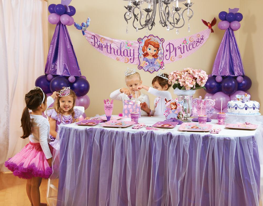 день рождения в стиле принцесс