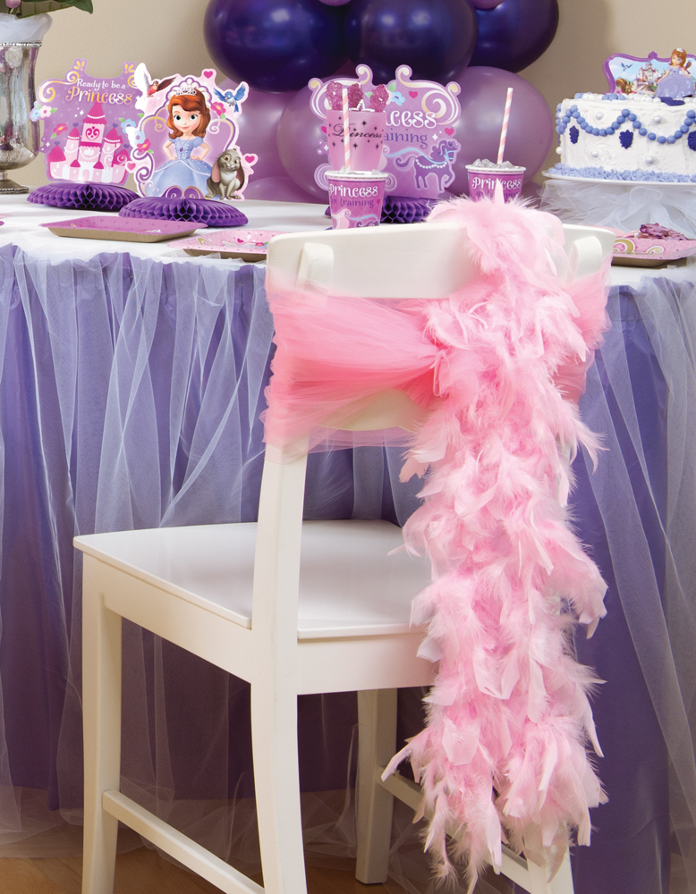 оформление стула принцессы