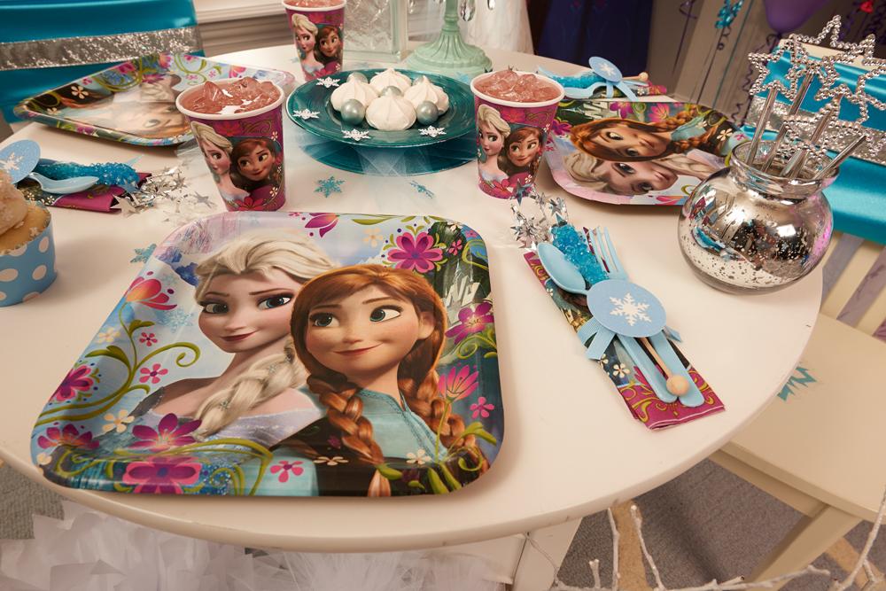 праздничный стол принцессы