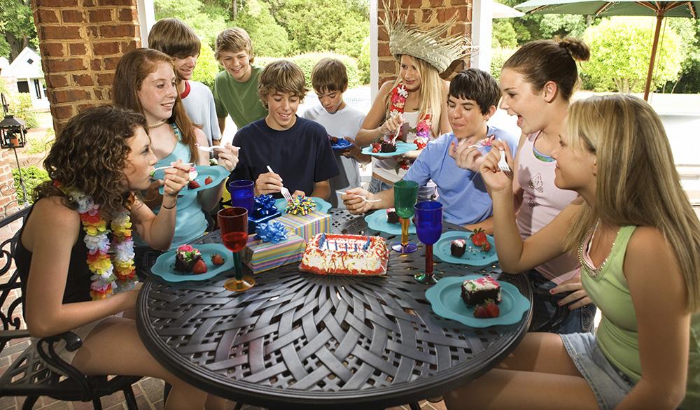 Где отметить день рождения подростка