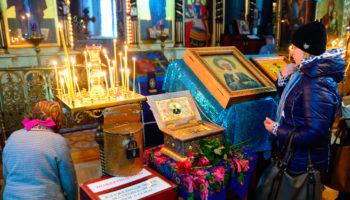 День памяти матроны московской