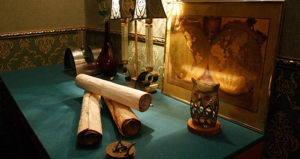 декор комнаты для квеста