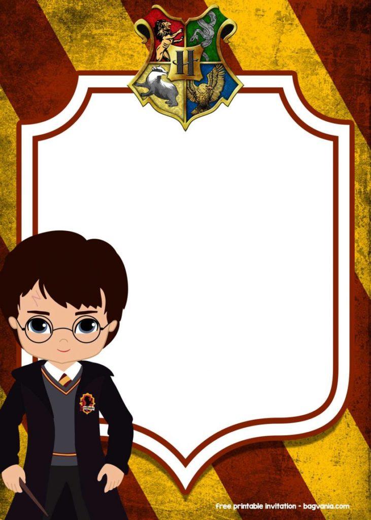 пригласительные в стиле Гарри Поттер