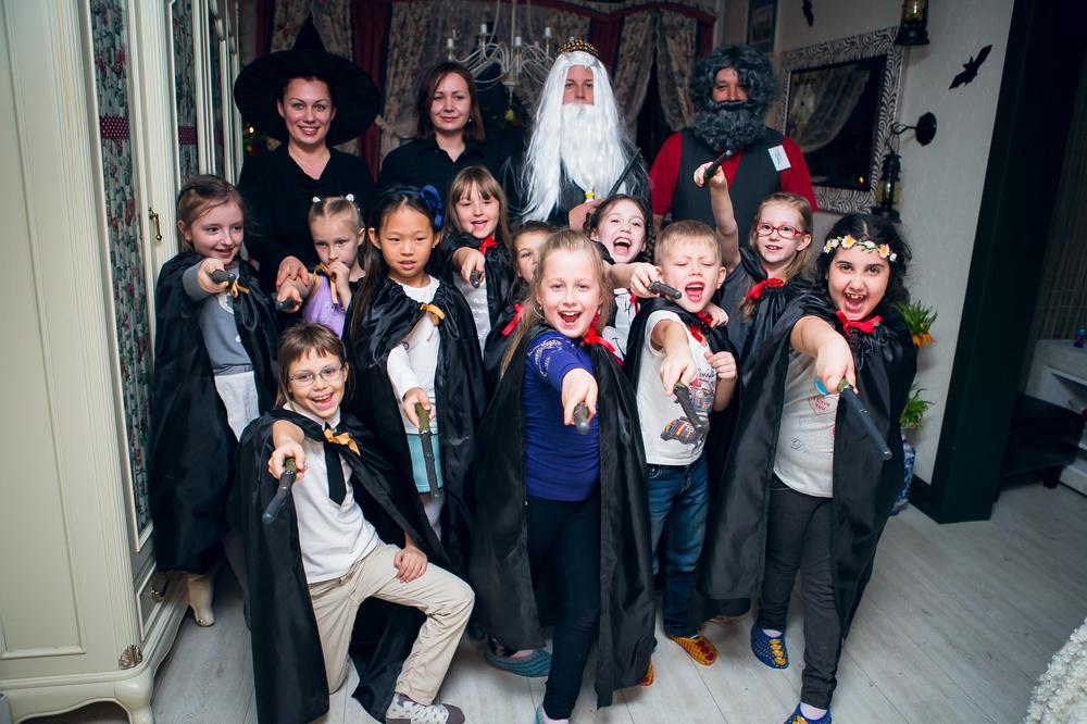 костюмы для вечеринки в стиле Гарри Поттера