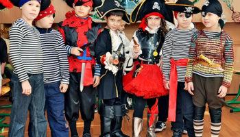 Пиратская вечеринка для детей