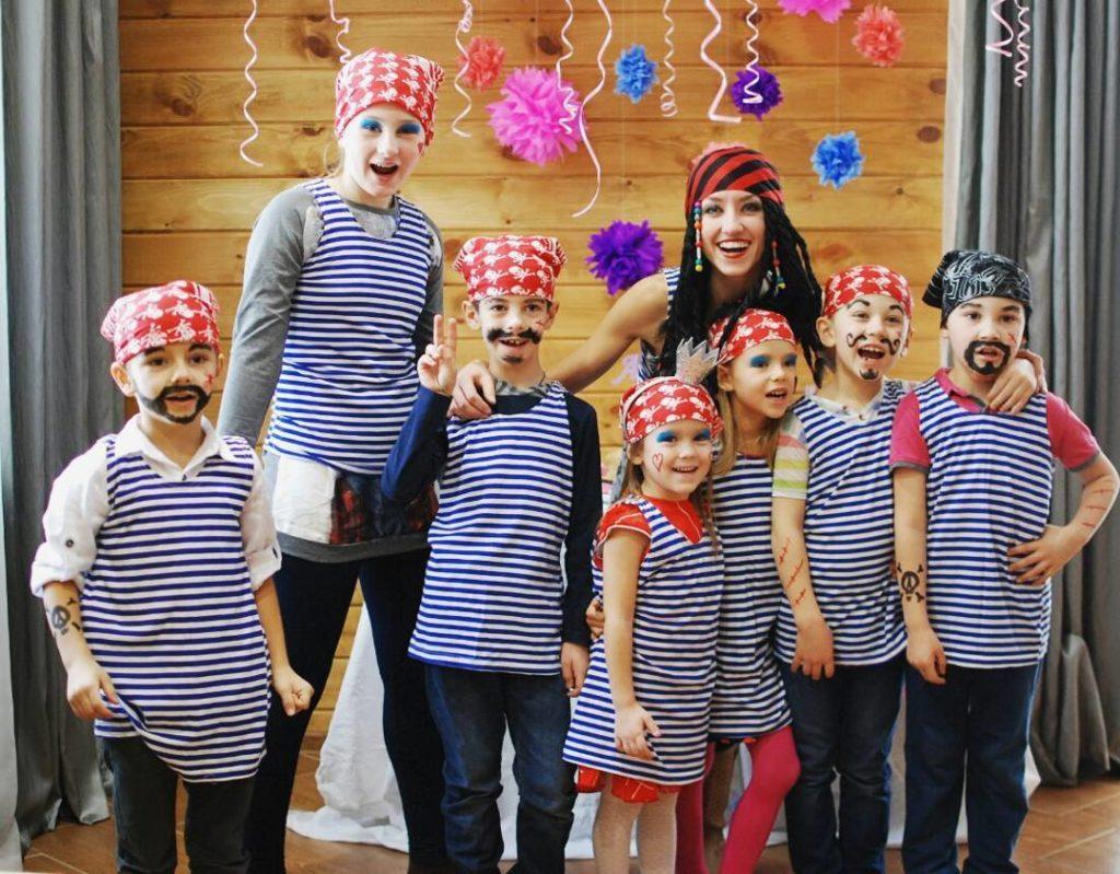 костюмы для пиратской вечеринки
