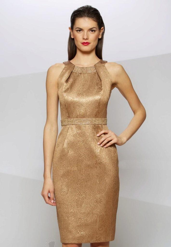 платье футляр на новый год
