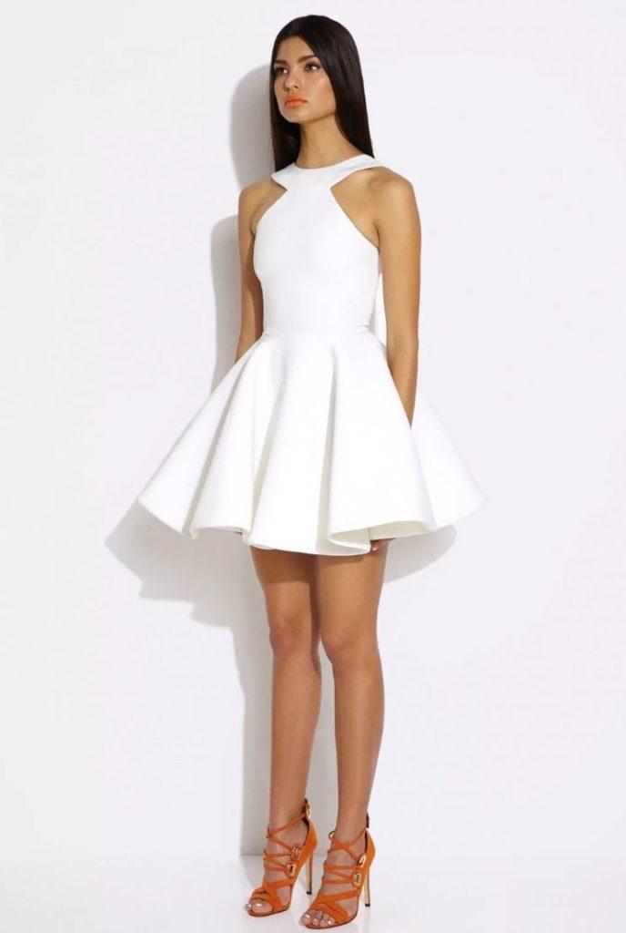 короткое платье на новый год