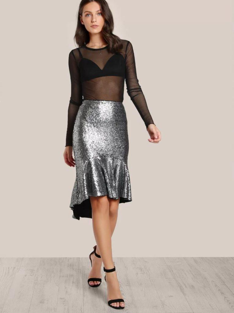 юбка для новогоднего образа