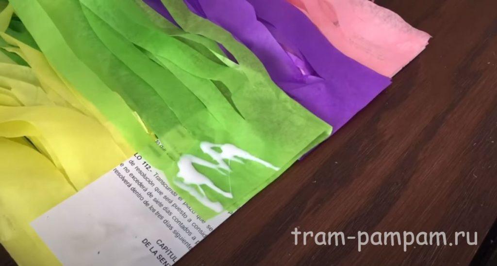 разноцветная грива