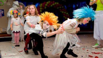 Конкурсы для детей на Хэллоуин