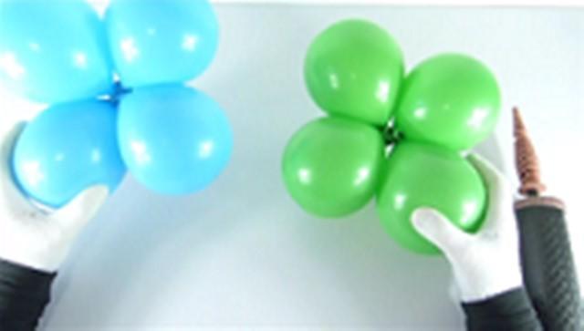 скрепляем шарики