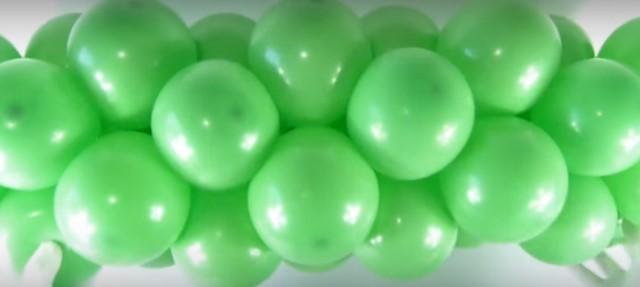 цифра один из воздушных шаров