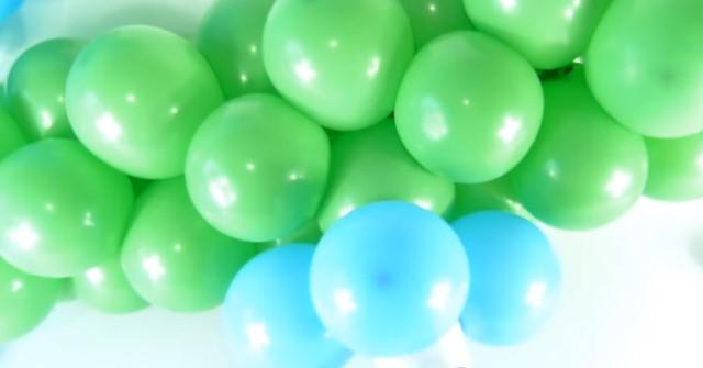 воздушные шары для цифры 1