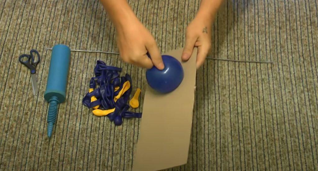 формируем размер шара